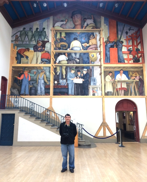 M a r t i n n u n e z p h o t o g r a p h y smile you for Diego rivera mural san francisco art institute
