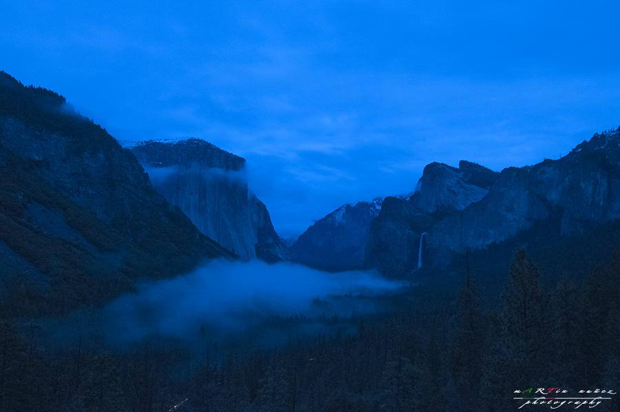 Yosemite Valley Twilight