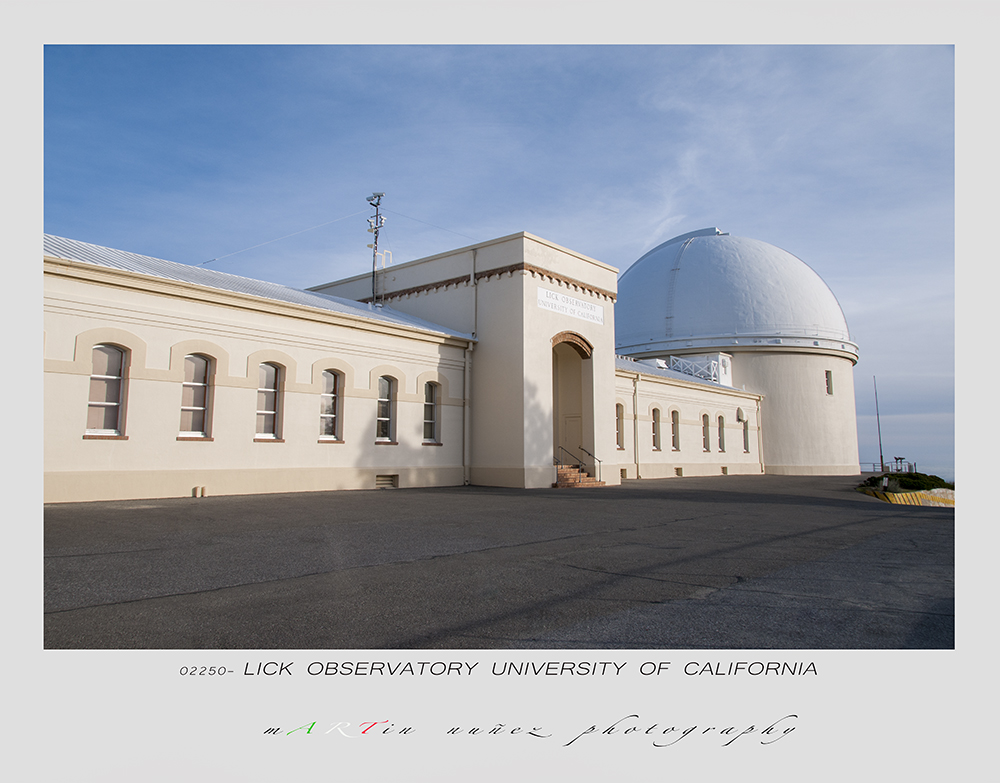 Lick Observatory University of California