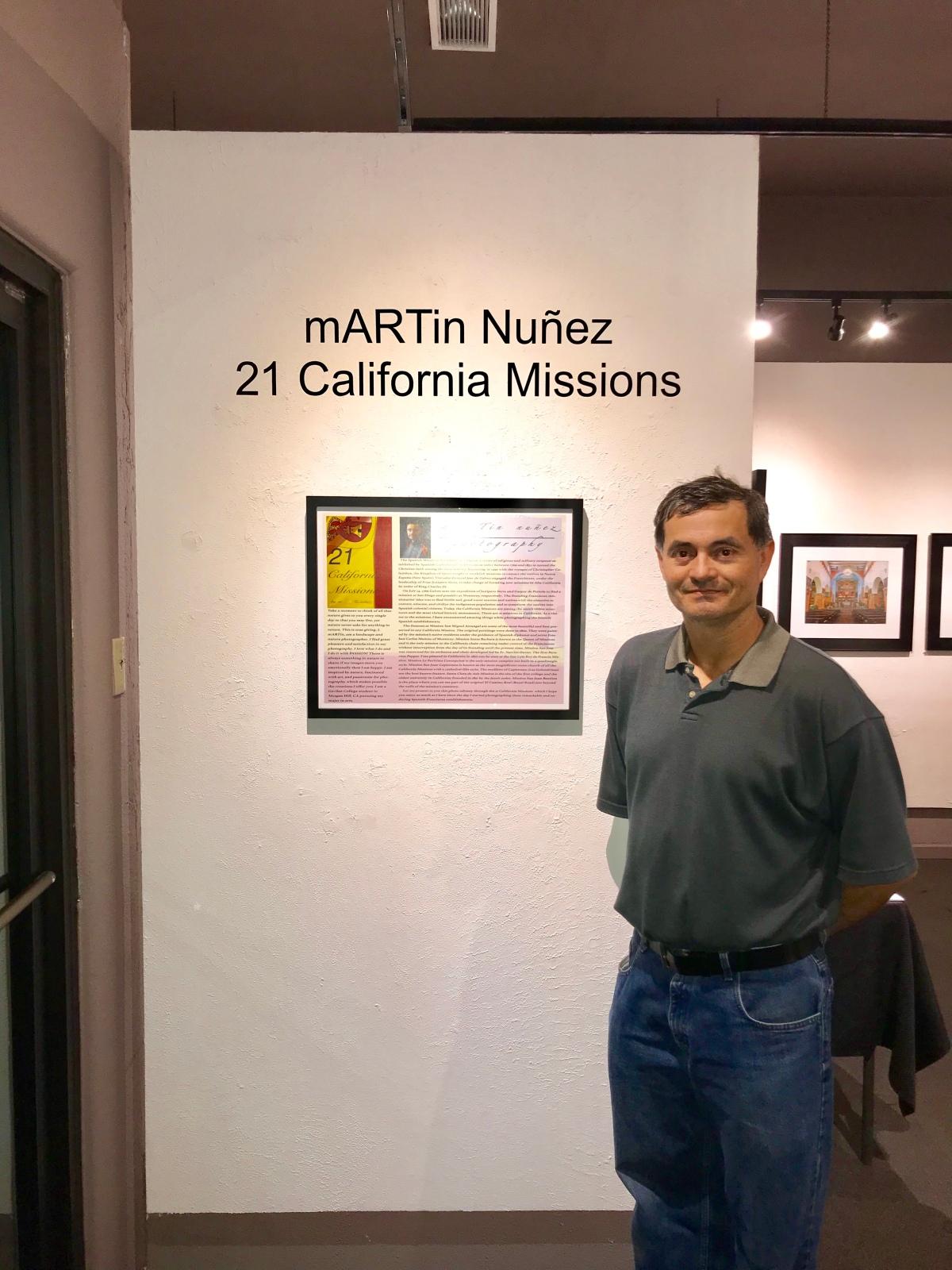 21 California Missions's Exhibit Spectrum art gallery December 9th2017