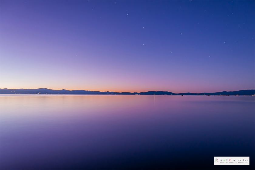 02477 Big Dipper Constellation Lake Tahoe, CA.